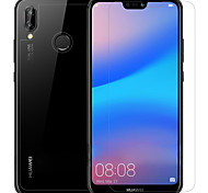 abordables -Protector de pantalla Huawei para Huawei P20 lite PET 3 piezas Protector frontal y posterior y lente de la cámara Anti-Reflejos