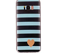 cheap -Case For Samsung Galaxy S8 Plus S8 Pattern Back Cover Heart Soft TPU for S8 Plus S8 S7 edge S7 S6 edge plus S6 edge S6 S5 S4 S3