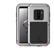cheap -Case For Samsung Galaxy S9 Water/Dirt/Shock Proof Full Body Cases Solid Color Hard Metal for S9