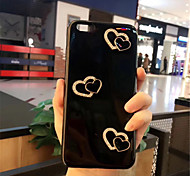 cheap -Case For Apple iPhone X iPhone 7 Plus Pattern Back Cover Heart Soft Silicone for iPhone X iPhone 8 Plus iPhone 8 iPhone 7 Plus iPhone 7