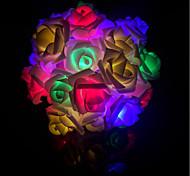Недорогие -не-водонепроницаемый 40 светодиодов многоцветный декоративный DC