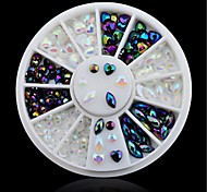 cheap -1pcs Rhinestones DIY Professional Level Portable Women Daily Nail Art Forms