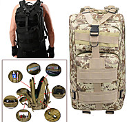 c906be2466bd cheap -Hiking Backpack Military Tactical Backpack 25 L - Rain Waterproof  Wearable Outdoor Camping Military
