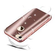 abordables -Coque Pour Apple iPhone 8 iPhone 8 Plus Antichoc Plaqué Coque Couleur Pleine Dur Aluminium pour iPhone 8 Plus iPhone 8 iPhone 7 Plus