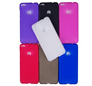 cheap -Case For Huawei P8 Lite (2017) P10 Lite Frosted Back Cover Solid Color Soft TPU for P10 Lite P10 Huawei P9 Lite Huawei P9 P8 Lite (2017)