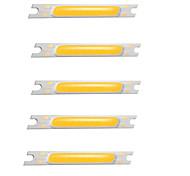 cheap -5pcs COB 12V Bulb Accessory Luminous LED Chip Aluminum for DIY LED Flood Light Spotlight 3W