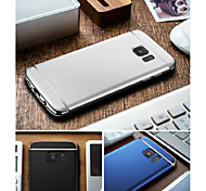 cheap -Case For Samsung Galaxy S8 Plus S8 Plating Back Cover Solid Color Hard PC for S8 Plus S8 S7 edge S7 S6 edge plus