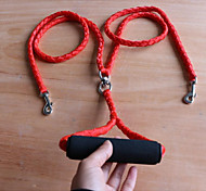 cheap -Dogs Cats Leash Portable Breathable Folding Solid Colored Nylon Black Red Blue