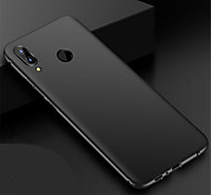 cheap -Case For Huawei P20 lite P20 Ultra-thin Frosted Back Cover Solid Colored Hard PC for Huawei P20 lite Huawei P20