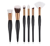 cheap -6-Pack Makeup Brushes Professional Makeup Brush Set / Blush Brush / Eyeshadow Brush Nylon / Synthetic Hair Eco-friendly / Professional /