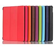 abordables -Funda Para Huawei MediaPad MediaPad M5 8 con Soporte Magnética Origami Funda de Cuerpo Entero Un Color Dura Cuero de PU para MediaPad M5 8