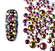 abordables -800pcs Bijoux à ongles Strass Brillant Décontracté / Quotidien Nail Art Design