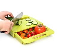 Недорогие -Кухонная организация Полки и держатели Пластик Новый дизайн / Аксессуар для хранения / Креатив 1шт