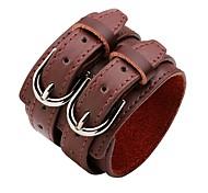 cheap -Leather Bracelet - Fashion Bracelet White / Black / Coffee For Ceremony / Street