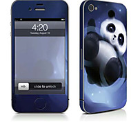 cheap -1 pc Skin Sticker for Scratch Proof Animal Pattern PVC iPhone 4/4s