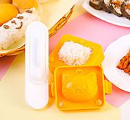 Недорогие -Кухонные принадлежности Пластик Новый дизайн DIY прессформы Рисовые шарики 3шт