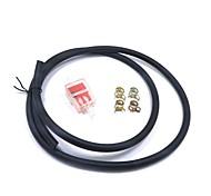 Недорогие -1 м топливный шланг трубопровод газовый бензиновый фильтр суппорт комплект для мотоцикла грязь яму байк atv 125 150cc