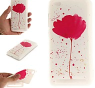 cheap -Case For Samsung Galaxy A7(2017) / A5(2017) Pattern Back Cover Flower Soft TPU / Silica Gel for A3(2017) / A5(2017) / A7(2017)