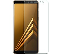 cheap -Screen Protector for Samsung Galaxy A8+ 2018 A8 2018 Tempered Glass 1 pc Front Screen Protector Anti-Fingerprint Scratch Proof Ultra Thin