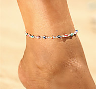 cheap -Anklet - Evil Eye Vintage, Bohemian, Tropical Gold / Silver For Gift / Going out