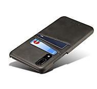 Недорогие -Кейс для Назначение Huawei P20 / P20 Pro Новый дизайн / Бумажник для карт Кейс на заднюю панель Однотонный Твердый Кожа PU для Huawei P20