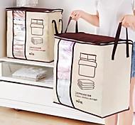 Недорогие -Нетканые Прямоугольная Новый дизайн Главная организация, 1шт Мешки для хранения
