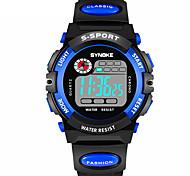 Недорогие -Муж. Спортивные часы / электронные часы Календарь / Секундомер / Защита от влаги PU Группа Мода Черный