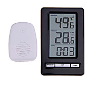 cheap -TS-WS-47 Wireless Digital Thermometer Indoor Outdoor Thermometer Time Display Clock Table Stand Weather Station