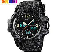 cheap -SKMEI 1155B Fashion Men Sports Watches Men Quartz Analog LED Digital Clock Man Military Waterproof Watch