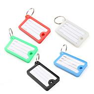 cheap -Mini Rectangle Travel Suitcase ID Luggage Tag (5 Pcs)