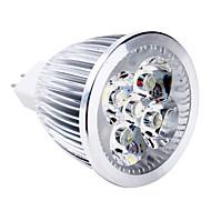 halpa LED-kohdevalaisimet-5W 400-500lm GU5,3(MR16) LED-kohdevalaisimet MR16 5 LED-helmet Teho-LED Lämmin valkoinen 12V