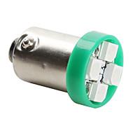 cheap LED Car Bulbs-Ba9s 3528 SMD 4-LED Green Light Bulb for Car (DC 12V, Set of 4 pcs)