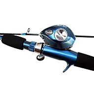 Carrete de la pesca Carretes de lanzamiento 6.3:1 11 Rodamientos de bolas -Manos / ZurdoPesca de Mar / Pesca de baitcasting / Pesca de