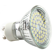 abordables LeXing-3W 250-300lm GU10 Focos LED MR16 48 Cuentas LED SMD 3528 Blanco Natural 220-240V
