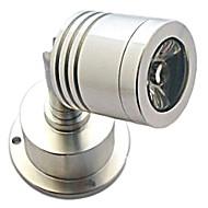 halpa Kattovalaisimet-ZDM® 1kpl 3W 100-130lm LED-kohdevalaisimet 1 LED-helmet Teho-LED Koristeltu Lämmin valkoinen 85-265V