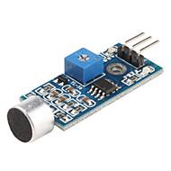 お買い得  Arduino 用アクセサリー-3ピン音センサモジュール(ブルー)