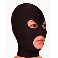 Máscara Ninja Zentai Disfraces de Cosplay Un Color Máscara Licra Unisex Halloween Navidad