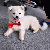 Gatos Perros Corbata/Pajarita Ropa para Perro Verano Primavera/Otoño Lazo Adorable Boda Naranja Morado Rojo Azul Rosa