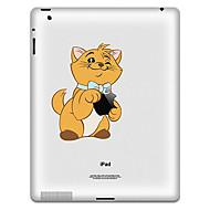 Patrón del oso pegatina protectora para el iPad 1, iPad 2, iPad 3 y el nuevo iPad