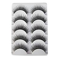 Cil Faux Cils 10 pcs Cils courbés / Dense / Naturel Cil Classique Quotidien Maquillage Cosmétique