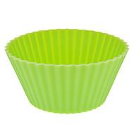 Redondeado de silicona de colores Copa Mould Cake (color al azar)