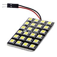 T10 BA9S Festón Coche Blanco 12W LED SMD 6000-6500 Luz de Lectura Luz Para La Placa del Coche Luz de Puerta