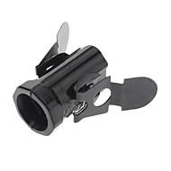 E14 Black color Base Bulb Socket lamp holder High Quality Lighting Accessory