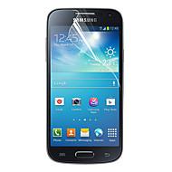 Недорогие Чехлы и кейсы для Galaxy S-Защитная плёнка для экрана Samsung Galaxy для S4 Mini PET Защитная пленка для экрана Защита от царапин