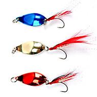 abordables Accesorios para Pesca-Colorful gancho de pesca con las plumas Lure (5 g, color ramdon)