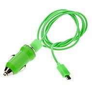 Verde Micro USB cable cargador para Samsung, HTC Mobile y otros (varios colores)