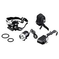 Stirnlampen Schweinwerfer LED Cree XM-L T6 Radsport Wiederaufladbar 18650 3600 Lumen Batterie Camping / Wandern / Erkundungen