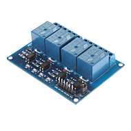 お買い得  Arduino 用アクセサリー-ArduinoのPICの腕AVR DSP用カプラ付DC 5V、4チャンネル·リレー·モジュール