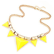 cheap -Chic Triangle Necklace