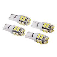 T10 Araba Soğuk Beyaz SMD 3528 6000-6500 Plaka Aydınlatma Lambası Şerit Lamba Yan Lambalar